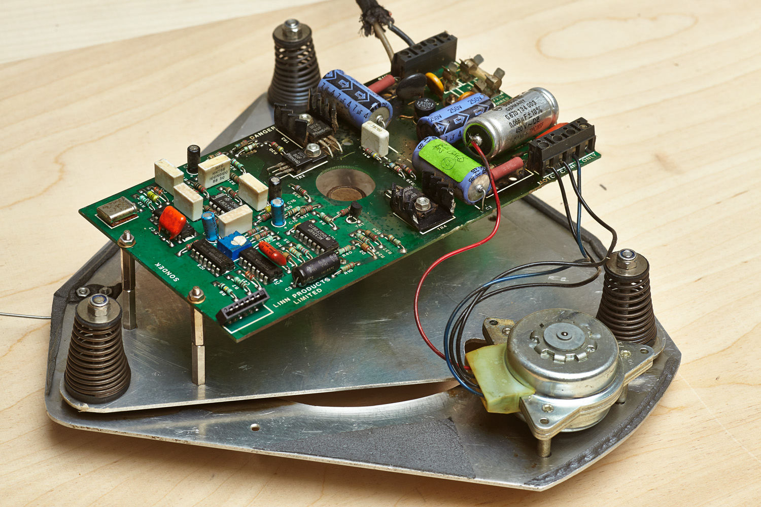 Truefi the turntable part ii the motor unit for Turn and burn motors