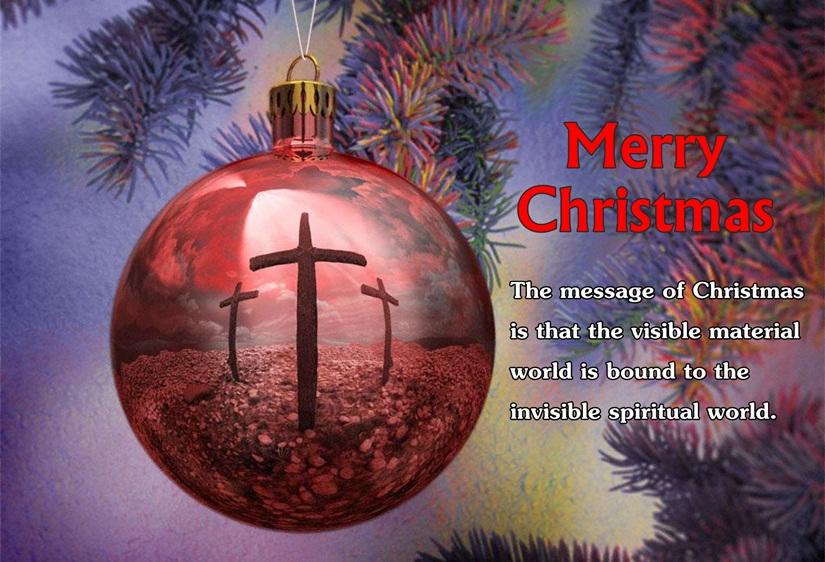 Religious Christian Christmas Quotes & Spiritual Xmas From Bible ...