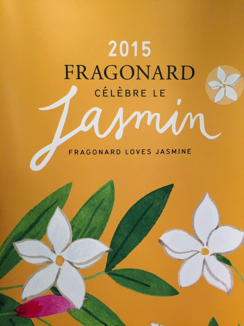 Fragonard celebrates jasmine in 2015