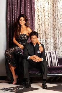 Shah Rukh Khan and wife