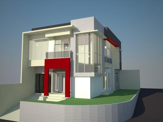 koleksi gambar desain rumah minimalis modern cerita