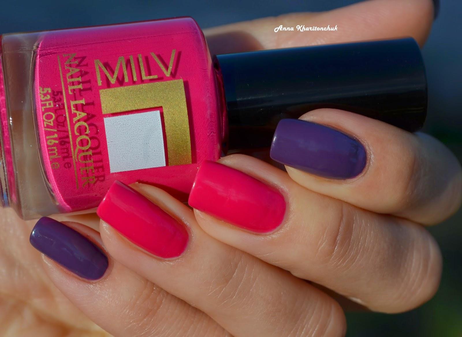 Milv # 52 и Milv # 61 + слайдер дизайн