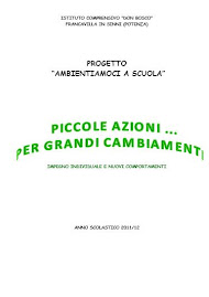 """Ambientiamoci a scuola"""