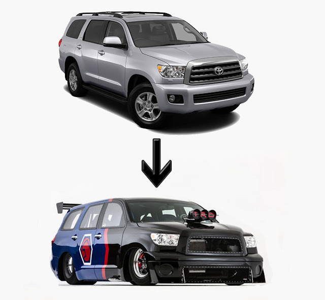 2012 Toyota Sequoia, Toyota Dream Build Challenge