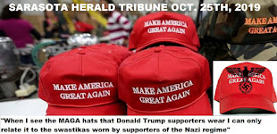Far Left Sarasota Herald Tribune posts article by Bart Coyle: When I see the MAGA hats