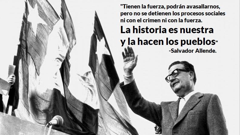 11 septiembre 1973 Salvador Allende