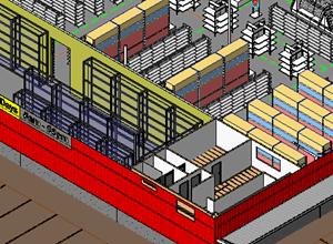 Warehouse-Layout