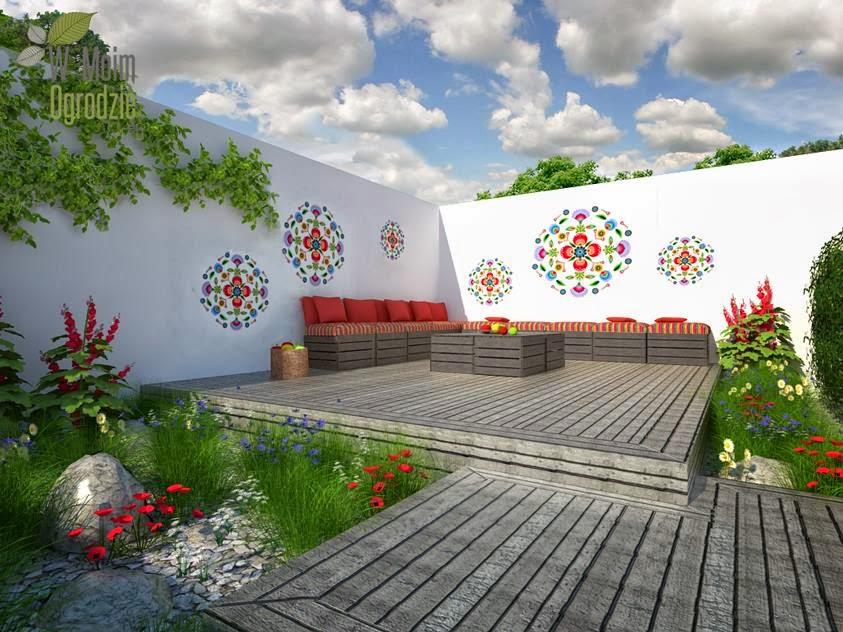projektowanie naturalistycznych ogrodów, wiejskich