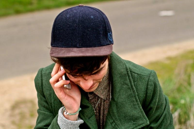 Mensfashion Blog Mode Homme Doublju Coat Jack&Jones Cap iPhone 5s