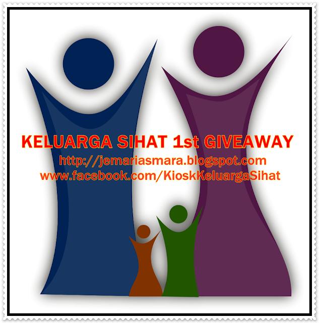 http://jemariasmara.blogspot.com/2014/03/keluarga-sihat-1st-giveaway.html