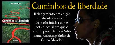 """""""Caminhos de liberdade – A luta pela defesa da selva"""""""