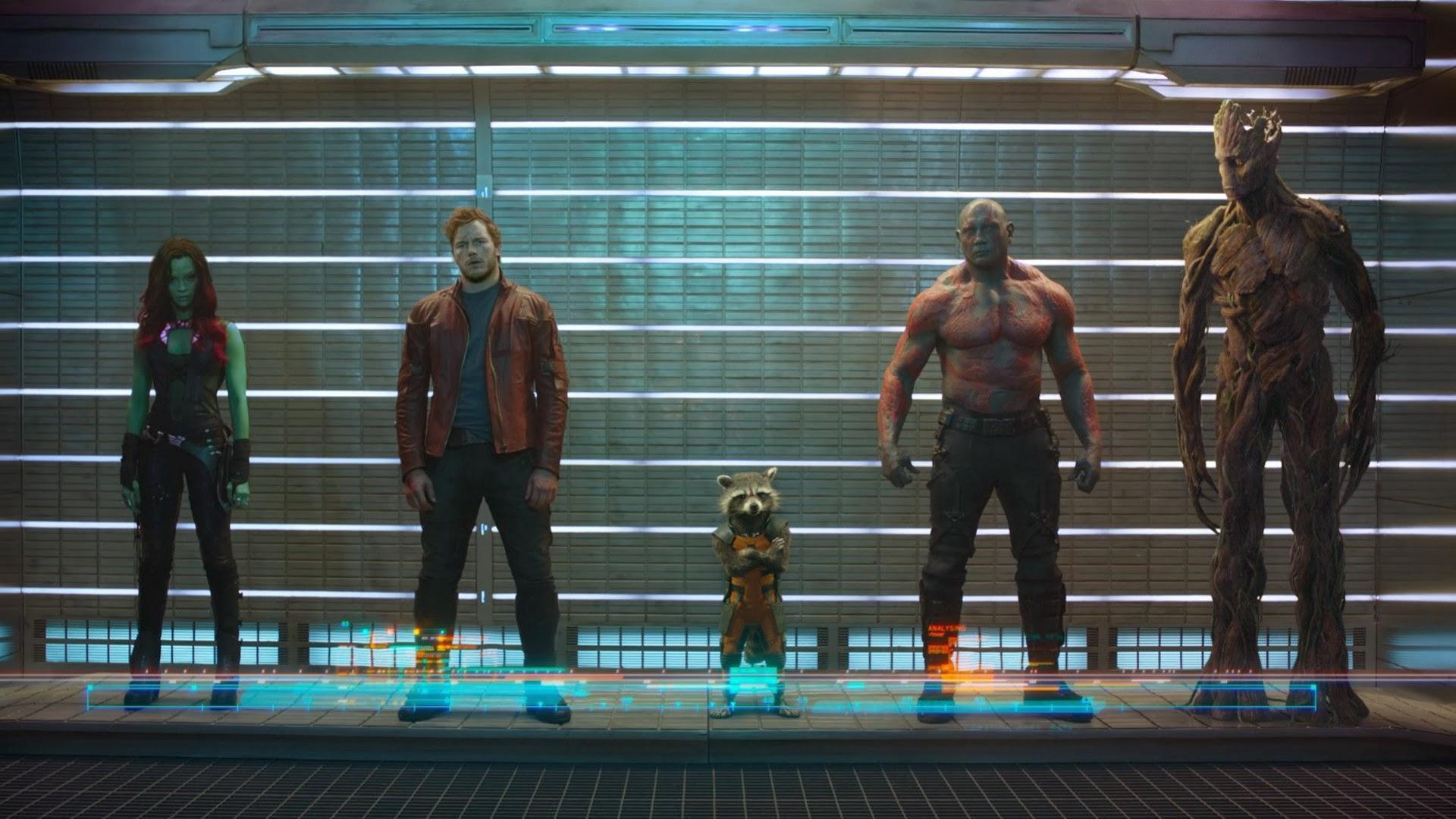 Guardian of the Galaxy Movie 9y