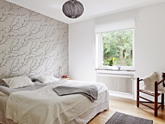 15 cool bedroom wallpaper ideas designs and patterns for for Cool bedroom wallpaper