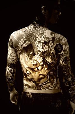 Tatuaje al estilo japonés, Irezumi