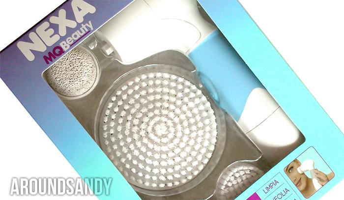 Nexa Cepillo limpieza facial MQ Beauty