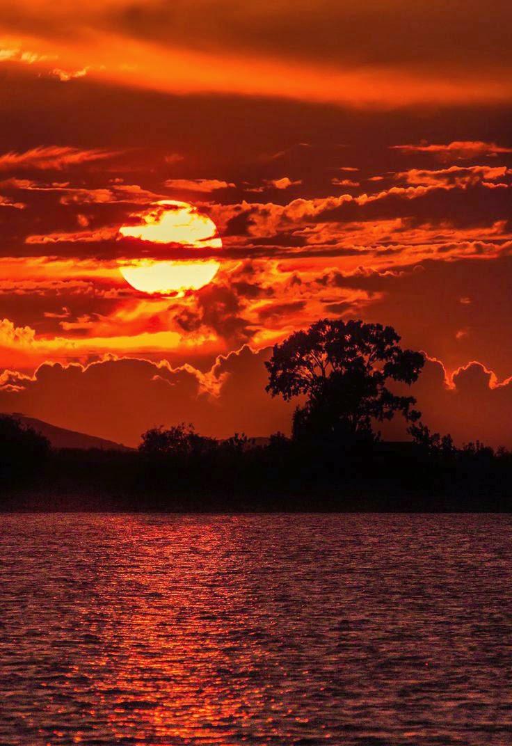 Sunset - Mesolonghi - Greece