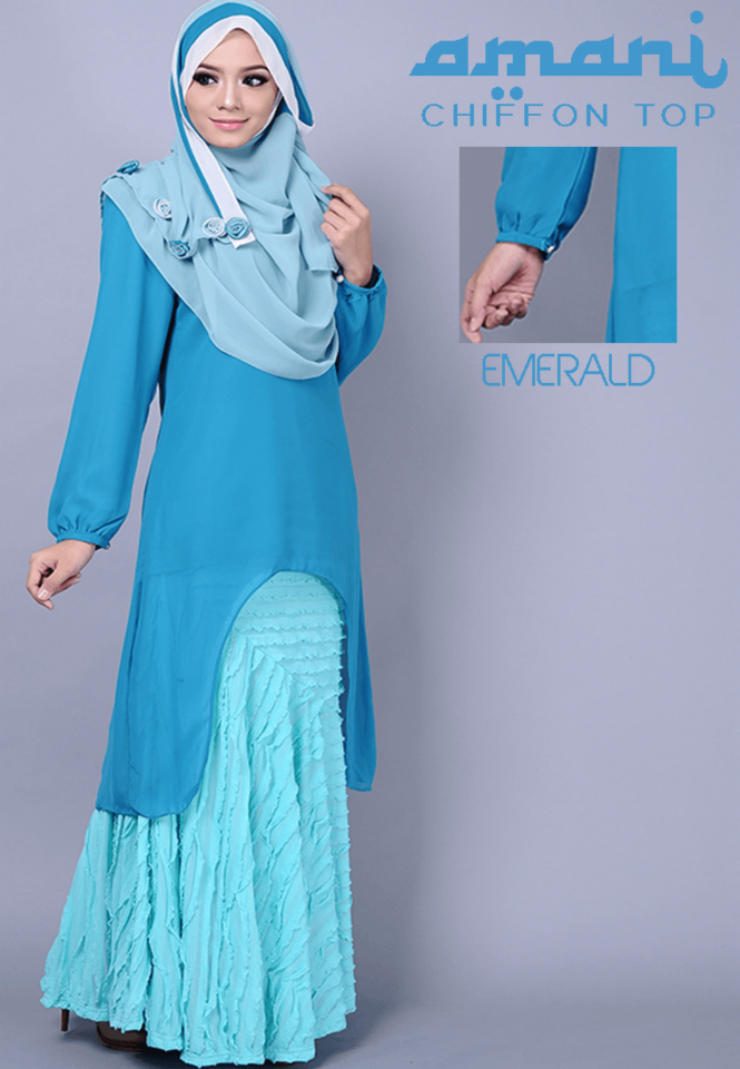 Sky blue top for girls
