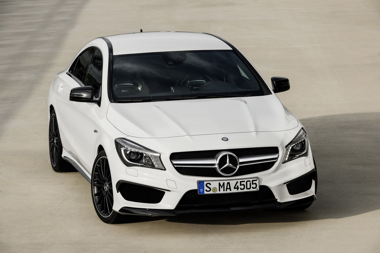 modern cars mercedes benz cla 45 amg 2013. Black Bedroom Furniture Sets. Home Design Ideas