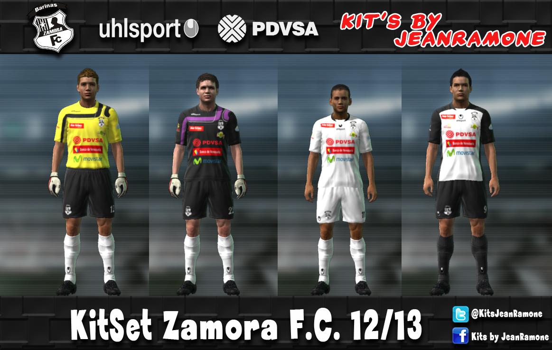Kits by JeanRamone   PEDIDO  KitSet Uhlsport Zamora F.C. 12 13 0c37d64b3d893