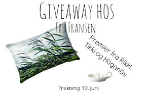 "Give away hos ""Fru Hansen"""
