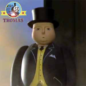 Seeing the children cheered Thomas tank up but Sir Topham Hatt harvest festival was looking troubled