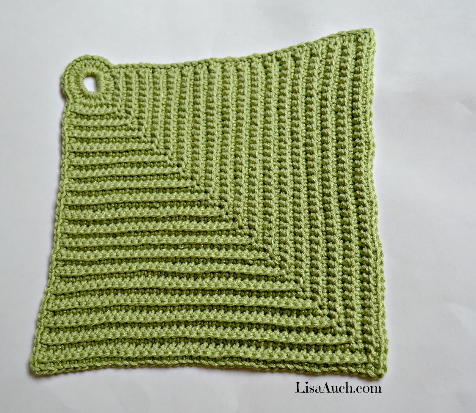Free Crochet Pattern For Easy Dishcloth : Free Crochet Patterns and Designs by LisaAuch: Free Easy ...