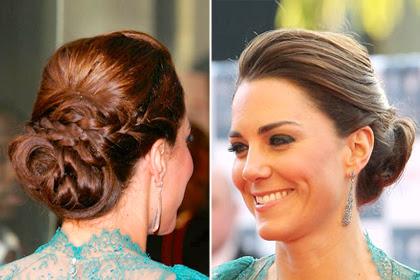 Fryzura księżnej Kate - zdjęcie