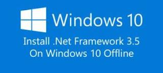 Tips Cara Install .NET Framework 3.5 di Windows 10