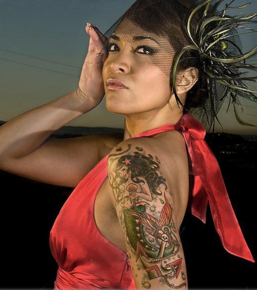 tatuajes de sirenas de mar