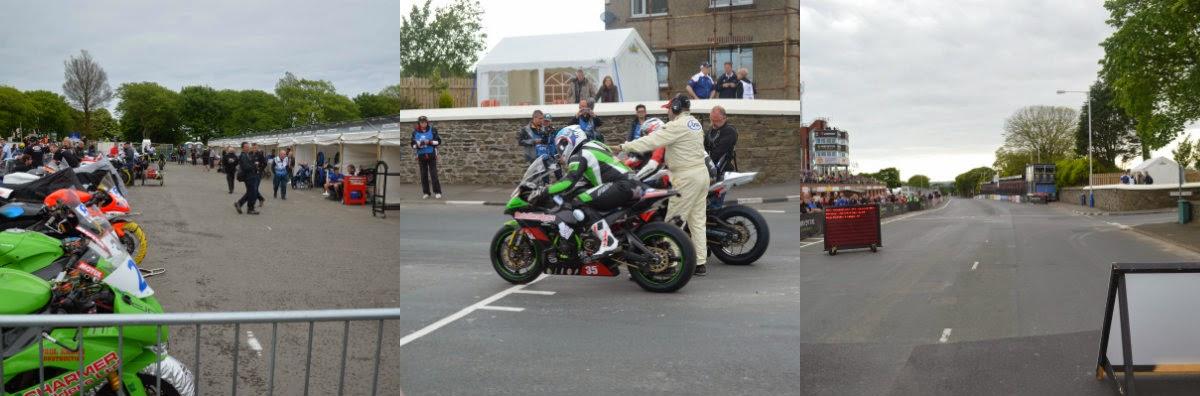 Salida carrera TT Isla de Man