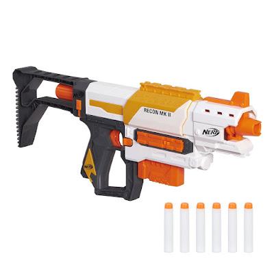 TOYS : JUGUETES - NERF N-Strike Modulus  Recon MKII | Blaster - Pistola  Producto Oficial 2015 | Hasbro B4616 | A partir de 8 años  Comprar en Amazon España & buy Amazon USA