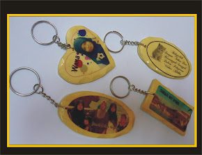 Key Chain Kayu