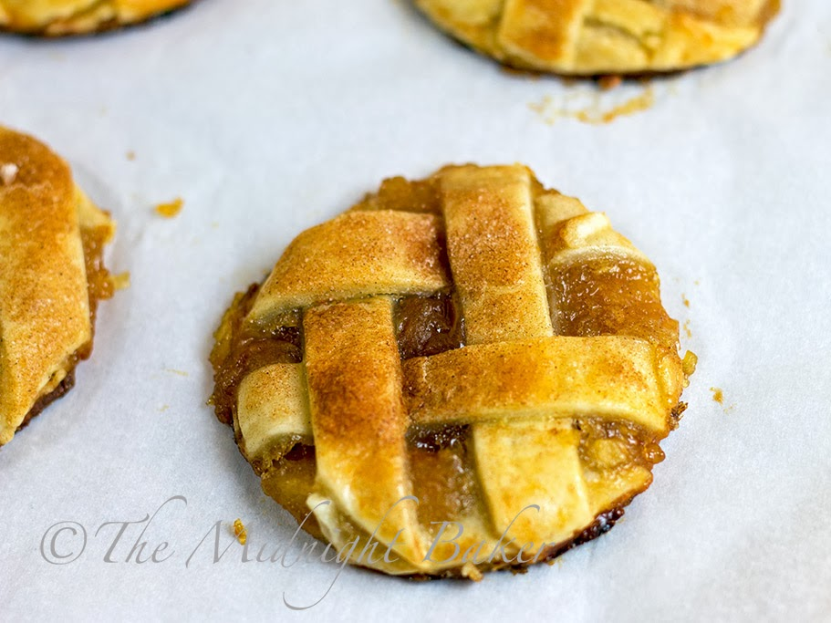 Apple Pie Cookies #RefrigeratedPieCrust #ApplePie #cookies