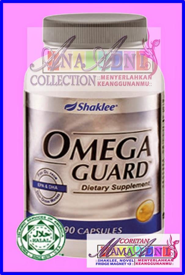 Omega Guard Shaklee: Supplemen terbaik untuk ibu menyusu