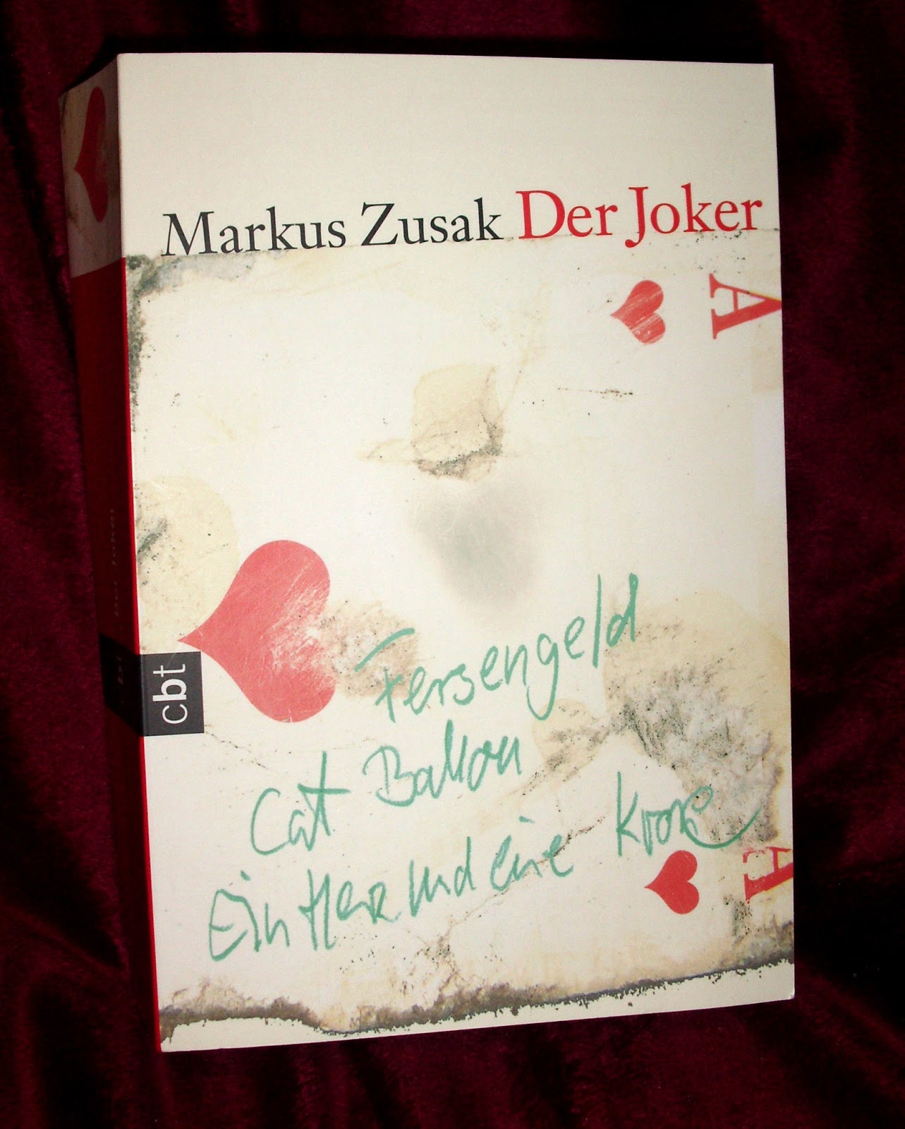 the protagonist's transformation in markus zusak's Markus frank zusak (36) was born in sydney  the book thief, zusaks fourth book for young adults, was a michael l printz honor book  the protagonist of the .