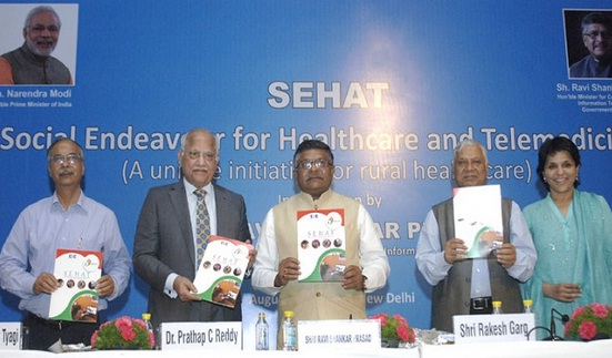 'Sehat' Govt. launches Telemedicine Initiative
