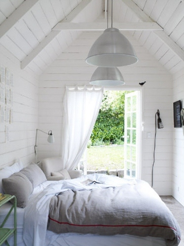 Beautiful White Bedrooms Fascinating Of All White Bedrooms Interior Design Pictures