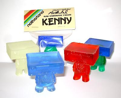 "Kenny 2 Inch Resin Figure by David ""Netherland"" van Alphen"