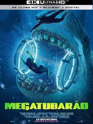 Megatubarão 4K - HDRIP Legendado Filmes Torrent Download capa