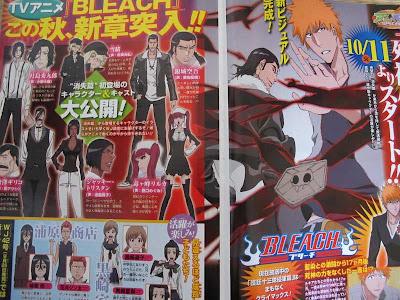 Bleach Anime Arco argumental Shinigami Daiko Shoshitsu hen