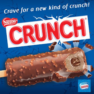 Nestle Crunch Ice Cream