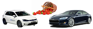 Check out EVs while enjoying the Cheshire Strawberry Festival