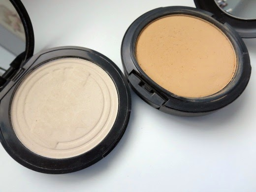 Soap & Glory One Heck of a Blot vs MAC Studio Fix