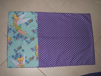Matching Tinkerbell Standard Pillow Case