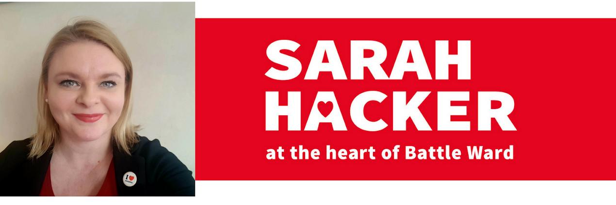 Cllr Sarah Hacker
