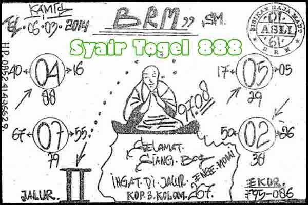 Syair SGP-Togel Info Singapore, Kamis 06 Maret 2014