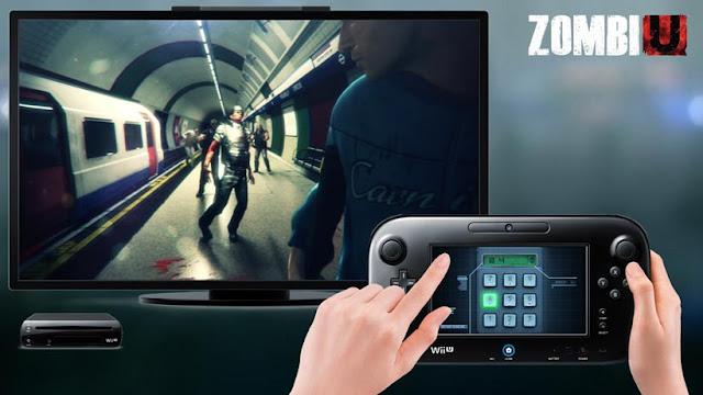 Using GamePad to play Wii U game ZombiU