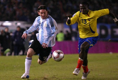 Ecuador vs Argentina eliminatorias