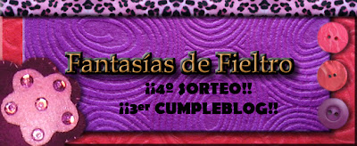 SORTEO EN FANTASIAS DE FIELTRO