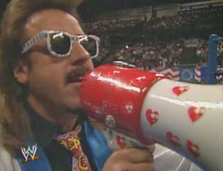 WWF / WWE - Wrestlemania 7: Jimmy Hart made multiple appearances at Wrestlemania VII